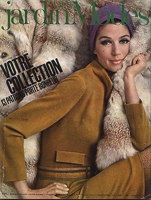 JARDIN DES MODES, Octobre 1964. Votre collection - 13 patrons porte bonheur.