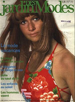 JARDIN DES MODES, Juin 1971. La mode
