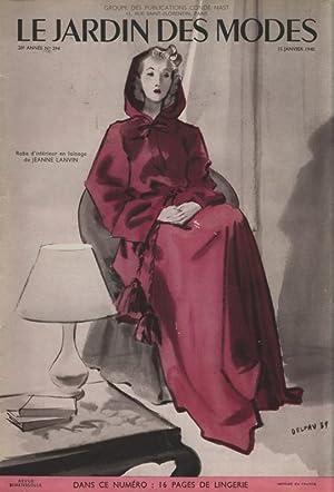 Le jardin des modes 15 janvier 1940 paris conde nast for Jardin janvier