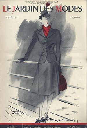 LE JARDIN DES MODES, 1. Fevrier 1940, No. 295