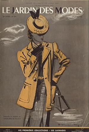 LE JARDIN DES MODES, 1. Mars1940, No. 297
