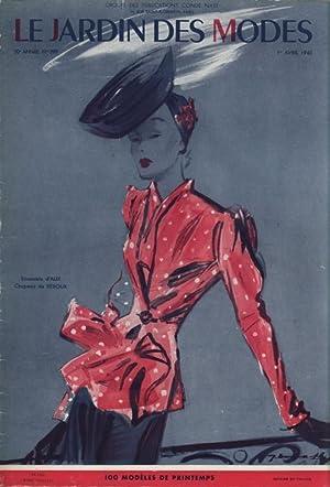 LE JARDIN DES MODES, 1. Avril 1940, No. 299