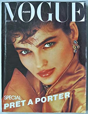 VOGUE, Paris, AOUT 1982. EVA VOORHIS.