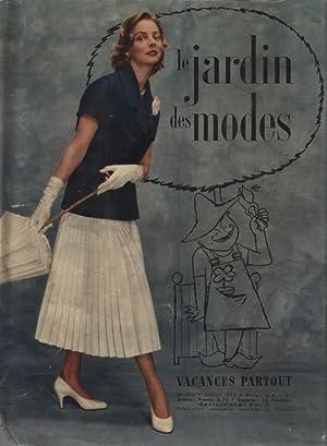 JARDIN DES MODES, Juillet 1955. La femme dans la eite, par G. Mesnil-Grante.
