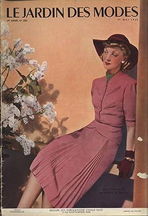 LE JARDIN DES MODES, 1. Mai 1939. No. 280. Robe el chapeau de MADELEINE OE RAUCH.
