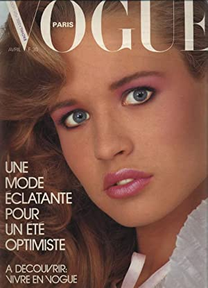 VOGUE, Paris, Avril 1981. Une Mode eclatante pour un ete optimiste.