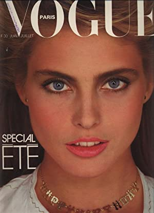 VOGUE, Paris, Juin 1981. Special ete.