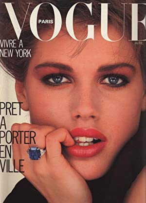 VOGUE, Paris, Avril 1983. Vivre a New York. Pret a porter en ville.