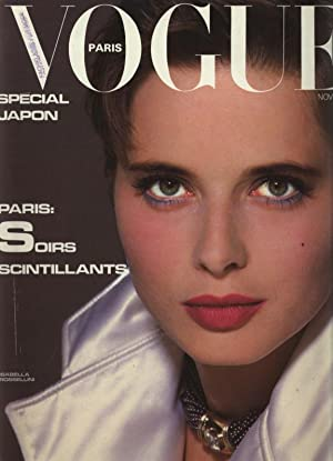 VOGUE, Paris, Novembre 1983. Special Uapon. Paris: Soirs scintillants.