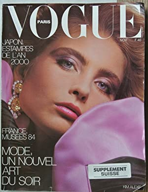 VOGUE, Paris, Novembre 1984. Japon: Estampes de l an 2000. France: Musees 84. Mode: Un Nouvel Art...
