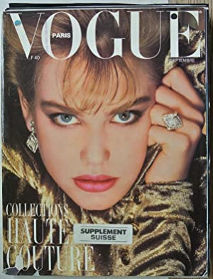 VOGUE, Paris, Septembre 1985. Collections haute couture.