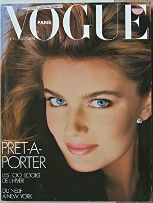 VOGUE, Paris, Octobre 1985. Pret a porter. Les 100 looks de l hiver. du neuf a New York.
