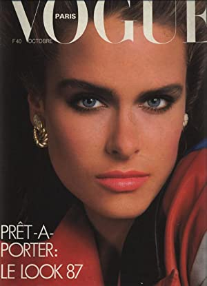 VOGUE, Paris, Octobre 1986. Pret a porter: le look 87.