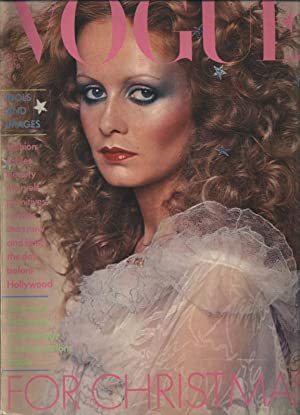 VOGUE, GB, December 1974. Idols and Images: fashion, fables, beauty, marvels, primitives, raritie...