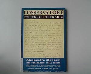 L'osservatore politico letterario. Anno XIX Milano 1973,