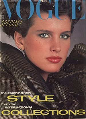 VOGUE, GB, September 1982. The stunning new style from the international collections.