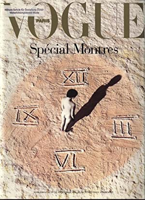 VOGUE, Paris, Avril 1992. Special Montres.