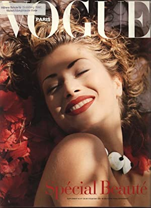 VOGUE, Paris, Mai 1992. Special Beaute.