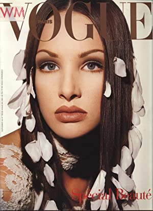 VOGUE, Paris, Mai 1993. Special Beaute.