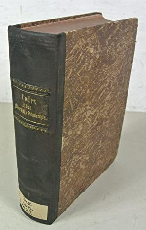 Codex des im Königreiche Sachsen geltenden Kirchen- und Schul-Rechts. Dritte, bis auf die ...