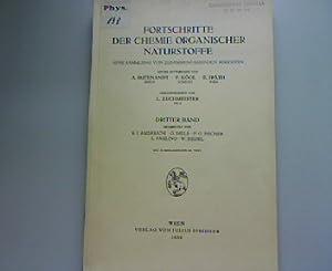 Fortschritte der Chemie organischer Naturstoffe Band 3. Eine Sammlung von zusammenfassenden ...