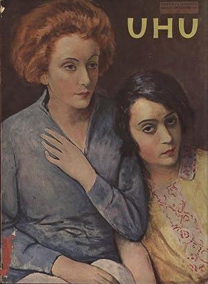 UHU DAS MONATS-MAGAZIN, December 1928, Nr. 3. Kindertheater. Zeichnung von Walter Trier.