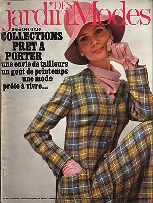 JARDIN DES MODES, Fevrier 1964. Collections Pret a Porter. Idees-Fleches, par Nicole Bamberger.
