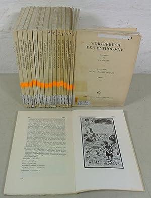 WÖRTERBUCH DER MYTHOLOGIE, 1. Abteilung: Die alten Kulturvölker, 1. bis 16. Lieferung.: ...