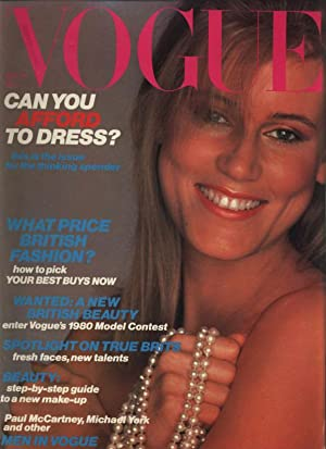 VOGUE, GB, 15th March 1980. Can you afford to dress? this is the issue for the thinking spender. ...