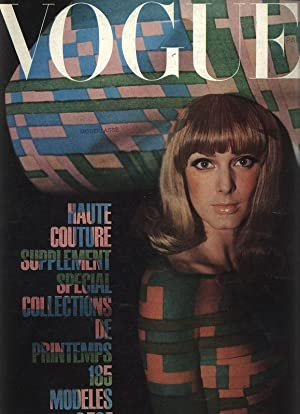 VOGUE, Paris, Mars 1965. Special collections.