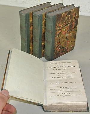 Euripidis Tragoediae cum fragmentis ad optimorum librorum fidem recognovit Augustus Witzschel. 4 ...