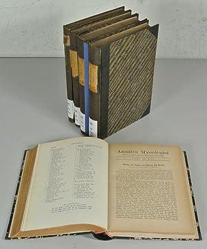 Annales mycologici : editi in notitiam scientiae mycologicae universalis., 7 Jahrgänge: 14 (...