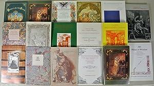 Antiquariat INTERLIBRUM VADUZ (Lichtenstein). Sammlung von 17 Katalogen (darunter eine Dublette). ...