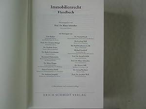 Immobilienrecht: Handbuch.: Schreiber, Klaus [Hrsg.] und Udo Becker: