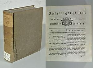 Kreis-Intelligenzblatt der Königlich Baierischen Regierung des Ober-Donau-Kreises, für ...
