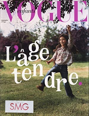 VOGUE ENFANTS, Supplement du No. 840, Septembre 2003, Les enfants d' abroad.