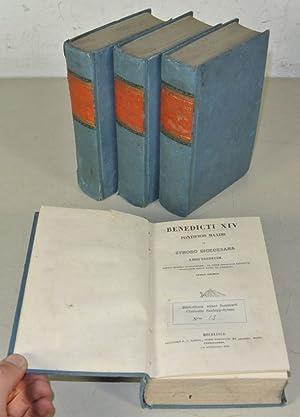 Benedicti XIV Pontificis Maximi. De Synodo Dioecesana Libri Tredecim. 4 Volumes (complete).: ...