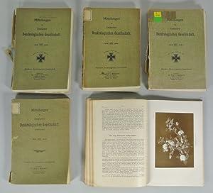 MITTEILUNGEN DER DEUTSCHEN DENDROLOGISCHEN GESELLSCHAFT (Jahrbuch), 5 Bände: 1915, 1916, 1918,...