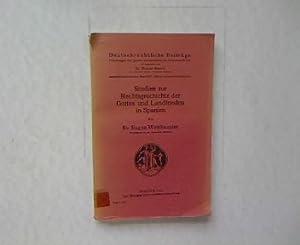 Deutschrechtliche Beiträge Band XIV Heft 2. Studien zur Rechtsgeschichte der Gottes- und ...