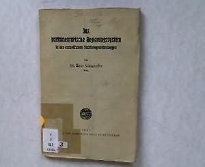 Das parlamentarische Regierungssystem in den europäischen Nachkriegsverfassungen.: Klinghoffer...