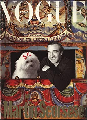 VOGUE, Paris, Decembre 90 - Janvier 1991. Vogue par Martin Scorsese.