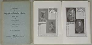 Mitteilungen der Geographischen Gesellschaft in München, 10. Band, 1. Heft (Mai 1915) und 2. ...