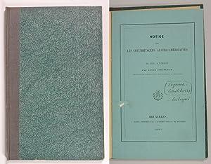 Notice sur les Cucurbitacees Austro-Americaines. (Extrait des Bulletins de l' Academie royale ...