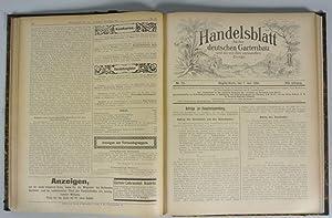 HANDELSBLATT FÜR DEN DEUTSCHEN GARTENBAU UND DIE MIT IHM VERWANDTEN ZWEIGE, 17. Jahrgang (1902...