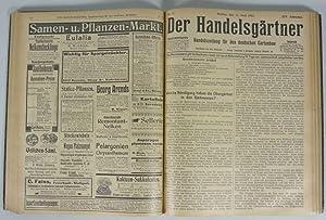DER HANDELSGÄRTNER, 14. Jahrgang (1912). Gebunden, vollständig. Handelszeitung für ...