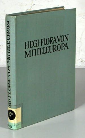 ILLUSTRIERTE FLORA VON MITTELEUROPA, Band III/1: DYCOTYLEDONES,: Hegi, Gustav: