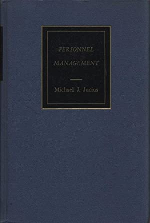 Personnel Management. 6th Edition.: Jucius, Michael James: