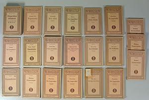 RECLAMS UNIVERSAL-BIBLIOTHEK, Sammlung von 21 Ausgaben, ca. 1917 - 1936, darunter 6 Dubletten (...