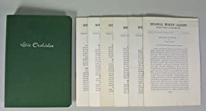 STUDIES IN STELIS, Part 1 - 3 and 5 - 7. (From: Botanical Museum Leaflets. Harvard University.) ...