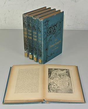 BIBLIOTHEQUE DE L' ENSEIGNEMENT DES BEAUX-ARTS, 5 Volumes: La Peinture Italienne, Espagnole, ...